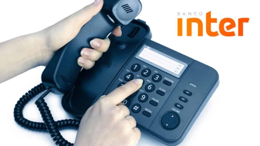 banco inter contatos telefones e faq