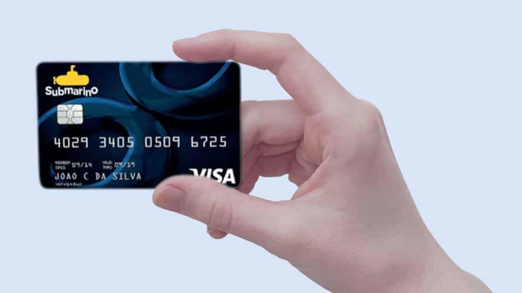 cartão de crédito submarino
