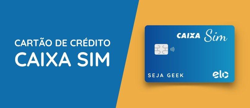 Cartao Caixa SIM Internacional sem Anuidade