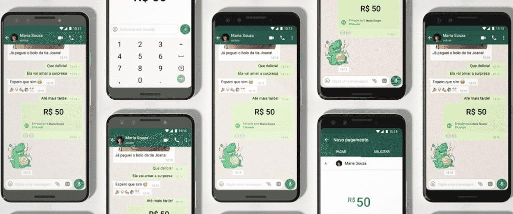 Pagamento Pelo WhatsApp header 2