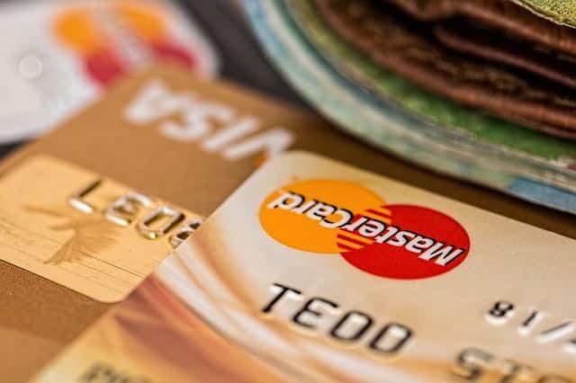 cartao de credito visa master