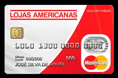 cartao pre pago lojas americanas