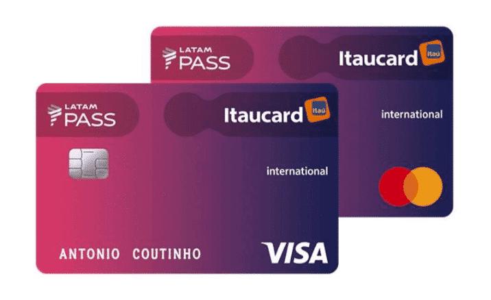 cartao itaucard latam pass internacional